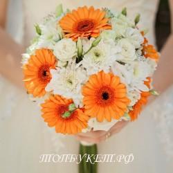Свадебный букет невесты #0011