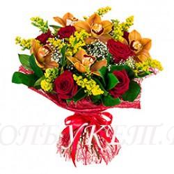 Доставка букетов  из цветов #0081 ( Санкт-Петербург )
