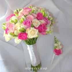 Свадебный букет невесты #0081