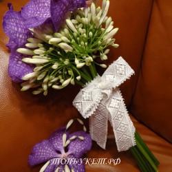 Свадебный букет невесты #0100