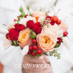 Свадебный букет невесты #0003