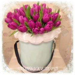Цветы в корзине - доставка в СПБ #0002