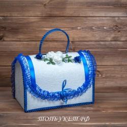 Сундучок для денег свадебный #0001