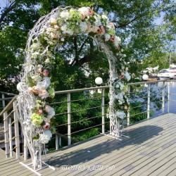 Свадебное оформление №0032 ( Свадьба в коттедже )