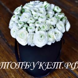 Цветы в корзине - доставка в СПБ #0023