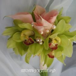 Свадебный букет невесты #0050