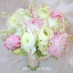 Свадебный букет невесты #0051
