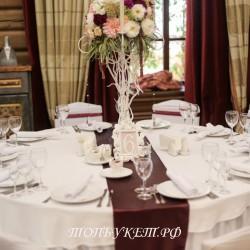 Свадебное оформление №0029 ( Свадьба в коттедже )