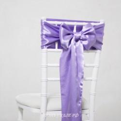 Бант на стул #0004 - Бант фиолетовый