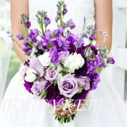 Свадебный букет невесты # 0001