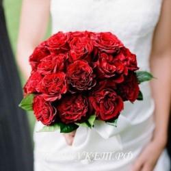 Свадебный букет невесты #0015