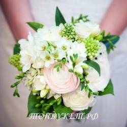 Свадебный букет невесты #0009