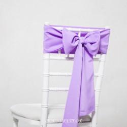 Бант на стул #0005 - Бант светло фиолетовый