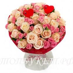 Доставка букетов  из цветов #0026 ( Санкт-Петербург )