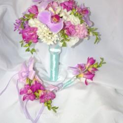 Свадебный букет невесты #0065