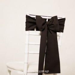 Бант на стул #0006 - Бант темно - коричневый