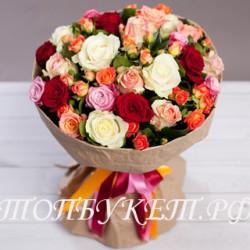 Доставка букетов  из цветов #0027 ( Санкт-Петербург )