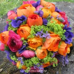 Свадебный букет невесты #0067
