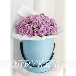 Цветы в корзине - доставка в СПБ #0024