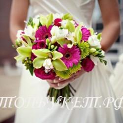 Свадебный букет невесты #0023
