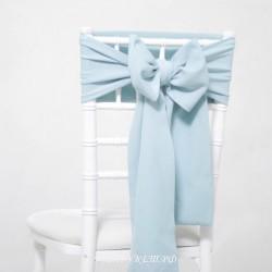 Бант на стул #0007 - Аренда бантов на свадьбу