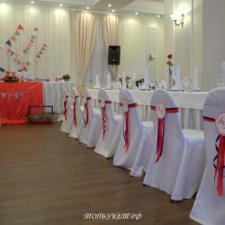 Свадебное оформление №0034 ( Свадьба в коттедже )
