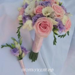 Свадебный букет невесты #0064