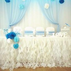 Свадебное оформление №0015 ( Свадебный декор )