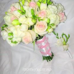 Свадебный букет невесты #0074