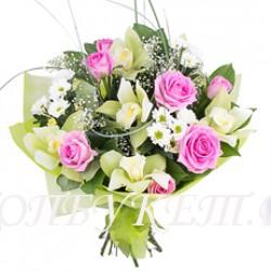 Доставка букетов  из цветов #0054 ( Санкт-Петербург )