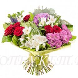 Доставка букетов  из цветов #0064 ( Санкт-Петербург )