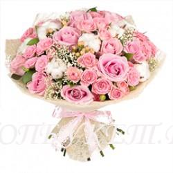 Доставка букетов  из цветов #0070 ( Санкт-Петербург )
