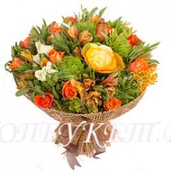 Доставка букетов  из цветов #0072 ( Санкт-Петербург )