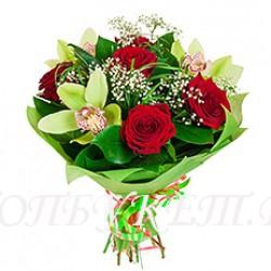 Доставка букетов  из цветов #0084 ( Санкт-Петербург )