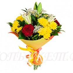 Доставка букетов  из цветов #0086 ( Санкт-Петербург )