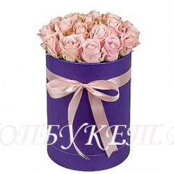 Цветы в корзине - доставка в СПБ #0037