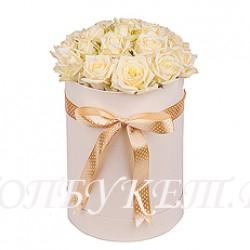 Цветы в корзине - доставка в СПБ #0039