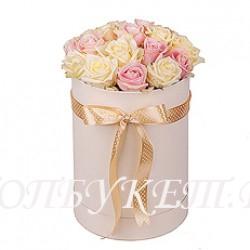 Цветы в корзине - доставка в СПБ #0040