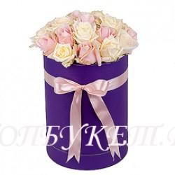 Цветы в корзине - доставка в СПБ #0042