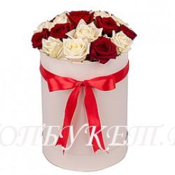Цветы в корзине - доставка в СПБ #0043