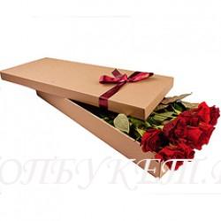 Цветы в корзине - доставка в СПБ #0044