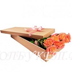 Цветы в корзине - доставка в СПБ #0046