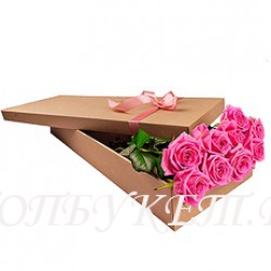 Цветы в корзине - доставка в СПБ #0047