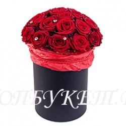 Цветы в корзине - доставка в СПБ #0048