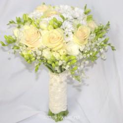 Свадебный букет невесты #0075