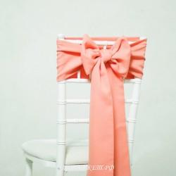 Бант на стул #0012 - Аренда бантов на свадьбу