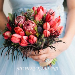 Свадебный букет невесты #0021