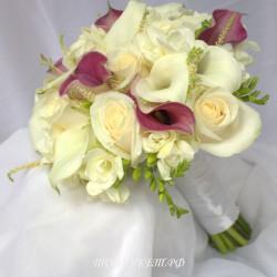 Свадебный букет невесты #0083