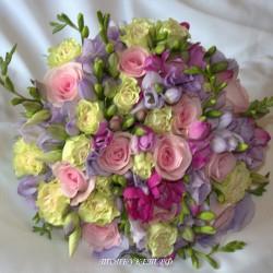 Свадебный букет невесты #0043
