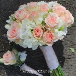 Свадебный букет невесты #0088